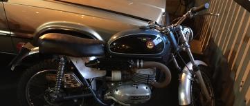 Motorcycle Bultaco Lobito